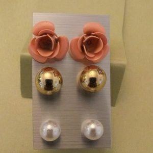Brand new 3pair set earrings #1
